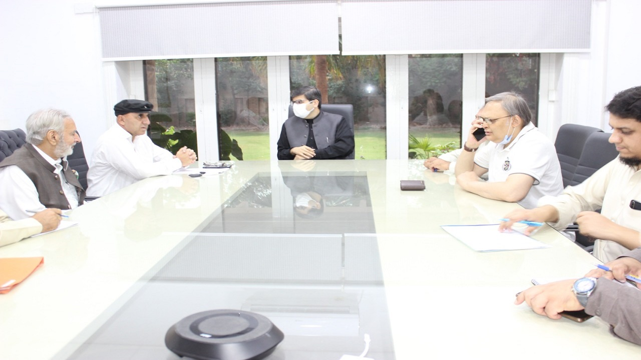 A Brief Meeting was held today with Project Director KPEC & Co-Ordinator of FPPCI kp at KPEC Office Peshawar