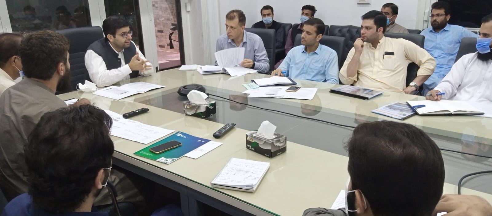 A view of Pre Submission meeting, Expression of Interest