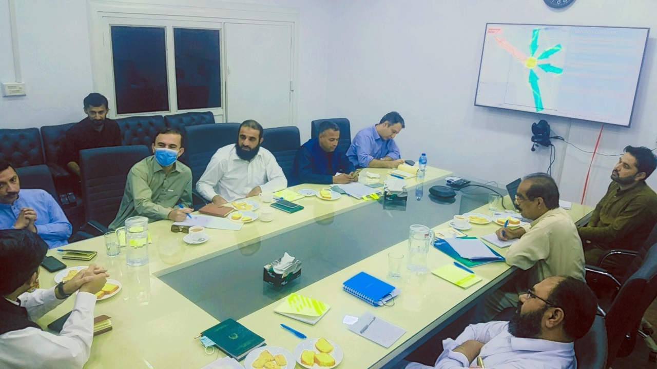 Consultation session in the office of KPEC Project