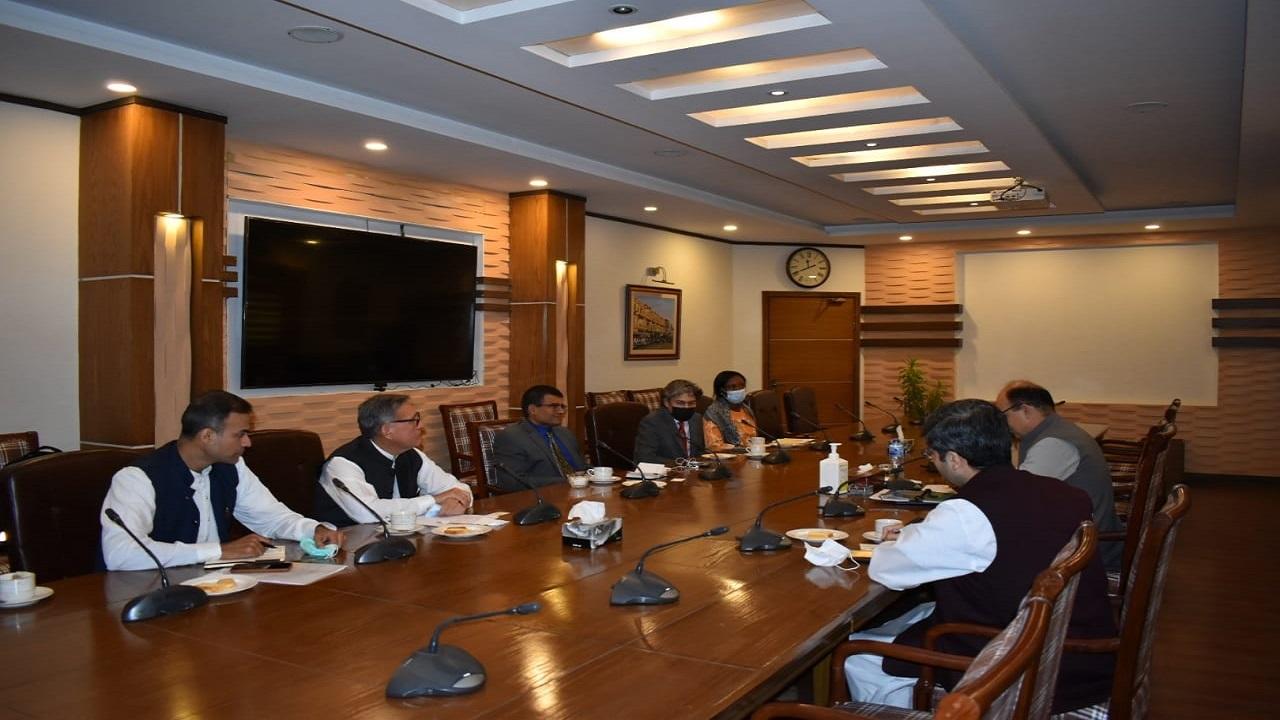 World Bank meeting with secretary Planning & Development Department Kp